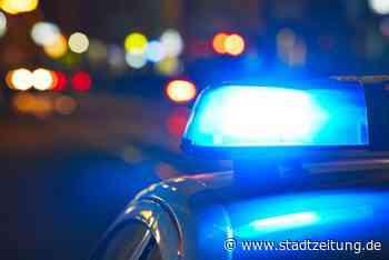 Nachts in Meitingen auf der Straße herumgerannt - StadtZeitung
