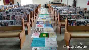 Iguaba Grande, RJ, celebra Corpus Christi com a confecção de cartazes e missa transmitida pela internet - G1