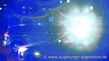 Fußgänger will in Meitingen mitten in der Nacht Autos anhalten - Augsburger Allgemeine
