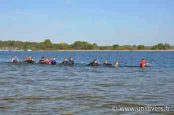 Marche aquatique lacustre à Parentis en Born jeudi 13 août 2020 - Unidivers