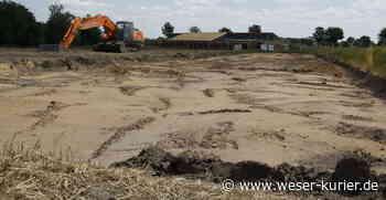 Neu und sechszügig: Bau der Kita in Leeste schreitet voran - WESER-KURIER