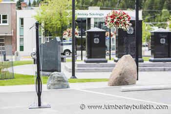 Bike rack built by Selkirk student installed in Veteran Memorial Park - Kimberley Bulletin
