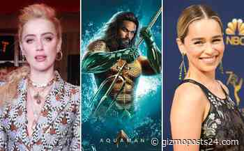 Is Emilia Clarke really replacing Amber Heard in the sequel of Aquaman; check it out!! - Gizmo Posts 24