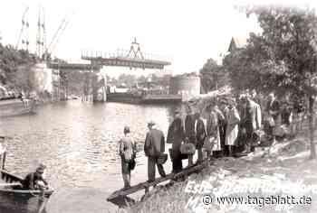 Eine Brücke als Symbol des Wiederaufbaus - TAGEBLATT - Lokalnachrichten aus Jork. - Tageblatt.de - Tageblatt-online