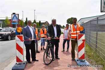 Wichtiger Baustein der Fahrradregion freigegeben - TAGEBLATT - Lokalnachrichten aus Jork. - Tageblatt.de - Tageblatt-online