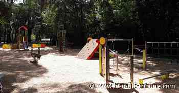 PEZENAS - Nouvelle aire de jeux au parc sans souci - Hérault-Tribune