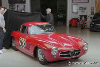 Jon Hamm, Jay Leno, and a 1955 Mercedes-Benz 300SL - CNBC