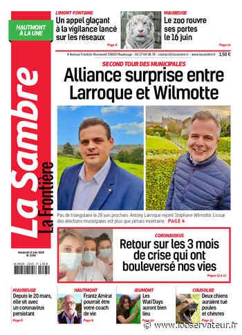 La Sambre (Hautmont) du vendredi 12 juin 2020 - L'Observateur