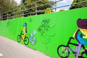 Meerdere plaatsen in buurtschap Stegeren beklad met graffiti - 112Vechtdal