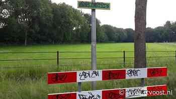 Vandalen bekladden half Stegeren met graffiti - RTV Oost