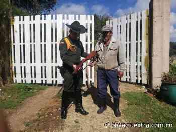 Desarme voluntario en Ventaquemada - Extra Boyacá