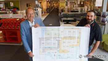 So baut Möbel Wilken den SB-Markt in Werlte um - noz.de - Neue Osnabrücker Zeitung