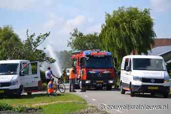Hoofdgasleiding geraakt in Moerkapelle tijdens werkzaamheden - Gouwe IJssel Nieuws