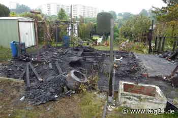 Serie geht weiter! Sechster Laubenbrand in Crimmitschau - TAG24