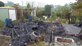 Schon wieder: Gartenlaube in Crimmitschau abgebrannt - Radio Zwickau