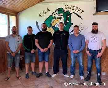 Damien Ballot et Pierre Selvenouveaux entraîneurs du club de rugby de Cusset (Allier) - Cusset (03300) - La Montagne