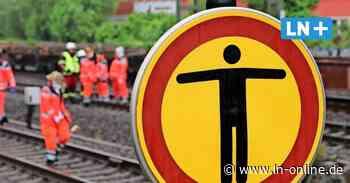 Von Zug erfasst: Dementer Mann (90) stirbt am Bahnhof in Schwarzenbek - Lübecker Nachrichten
