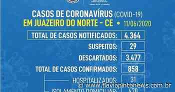 Juazeiro do Norte tem 31 pacientes internados por Covid-19 e idosa de 85 anos é o 28º caso de óbito no município - Flavio Pinto