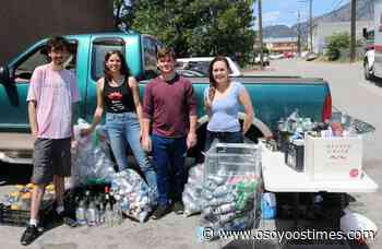 Local friends host bottle drive to support anti-racism movement - Osoyoos Times - Osoyoos Times