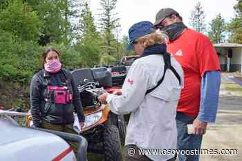Mock search during pandemic great training for OOSAR - Osoyoos Times - Osoyoos Times