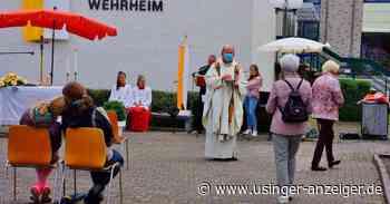 Fronleichnamsgottesdienst in Wehrheim: diesmal ohne Baldachin - Usinger Anzeiger