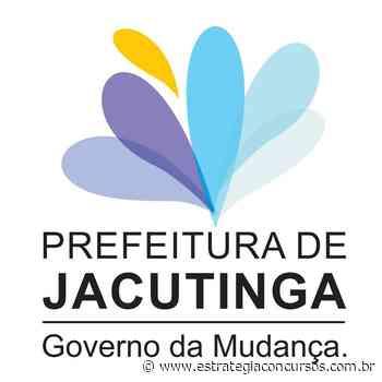 Provas do concurso Jacutinga estão oficialmente... - Estratégia Concursos