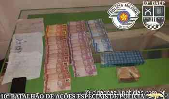BAEP prende traficantes em Santa Gertrudes na 'Operação Sintonia' - Cidade Azul Notícias