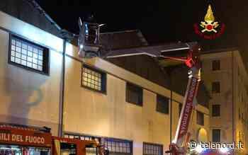 Tromba d'aria su Voltri, scoperchiato il tetto di un supermercato - Telenord