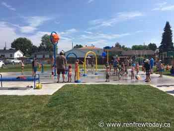 Renfrew and Eganville splash pads open today - renfrewtoday.ca