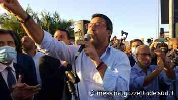 Salvini a Barcellona Pozzo di Gotto, tra applausi e contestazioni - Gazzetta del Sud - Edizione Messina