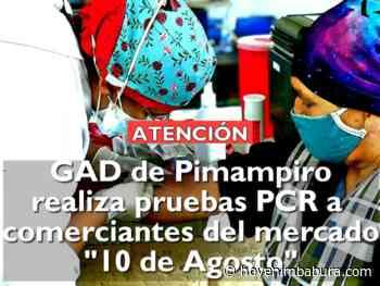Reactivos gratuitos en principal centro económico del cantón Pimampiro - Hoy en Imbabura