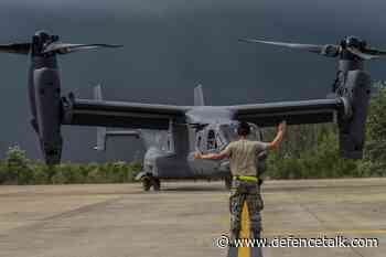 Bell Boeing Delivers 400th V-22 Osprey Tiltrotor Aircraft