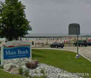 Port Elgin Main Beach To Re-Open Friday - Bayshore Broadcasting News Centre