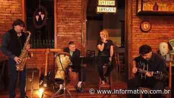 Banda Antonina Quarteto é atração desta semana do projeto Live Bandas Locais - Infomativo