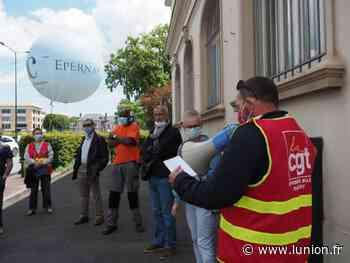 La CGT poursuit sa mobilisation à Epernay pour Anthony Smith - L'Union