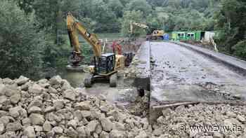 Die Hebsacker Brücke zwischen Remshalden und Winterbach verschwindet Stück für Stück - Zeitungsverlag Waiblingen