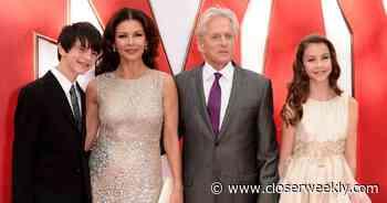 Catherine Zeta-Jones Shares Rare Photo With Michael Douglas and Kids - Closer Weekly