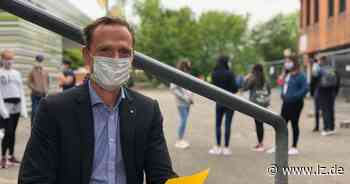 Maskenpflicht gilt auch auf dem Schulhof - Lippische Landes-Zeitung
