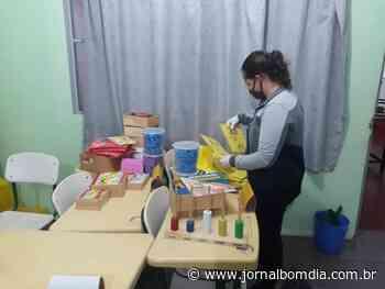 Itatiba do Sul: atividades complementares e organização do espaço escolar - Jornal Bom Dia