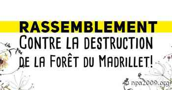 Saint-Etienne-du-Rouvray - Rassemblement contre la destruction de la forêt du Madrillet - NPA