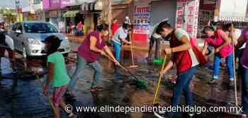 Realizan sanitizaciones constantes en Mixquiahuala - Independiente de Hidalgo