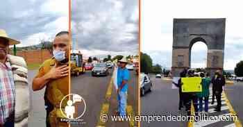 Hartos del incremento de huertas irregulares de aguacate, ciudadanos de Zacapu se manifiestan - Noticias Emprendedor Político