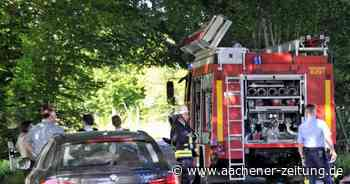 Simmerath: Motorradfahrer nach Unfall schwer verletzt - Aachener Zeitung