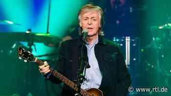 Paul McCartney: Songwriting ist wie Therapie - RTL Online