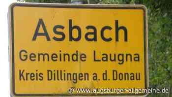 Wer hat ein Ortsschild von Asbach gestohlen? - Augsburger Allgemeine