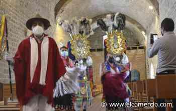 Los danzantes recorrerán las calles de Pujilí para celebrar el Corpus Christi - El Comercio (Ecuador)
