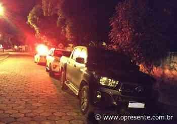 Caminhonetes roubadas em Terra Roxa são recuperadas em Guaíra - O Presente