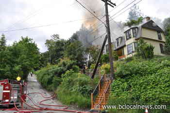 Firefighters respond to house fire in Nelson – BC Local News - BCLocalNews