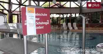 Wiedereröffnung mit Einschränkungen im Wasser - Schwäbische