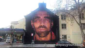 Surry Hills Is Now Home to a Three-Storey Mural of AFL Star Adam Goodes - Concrete Playground
